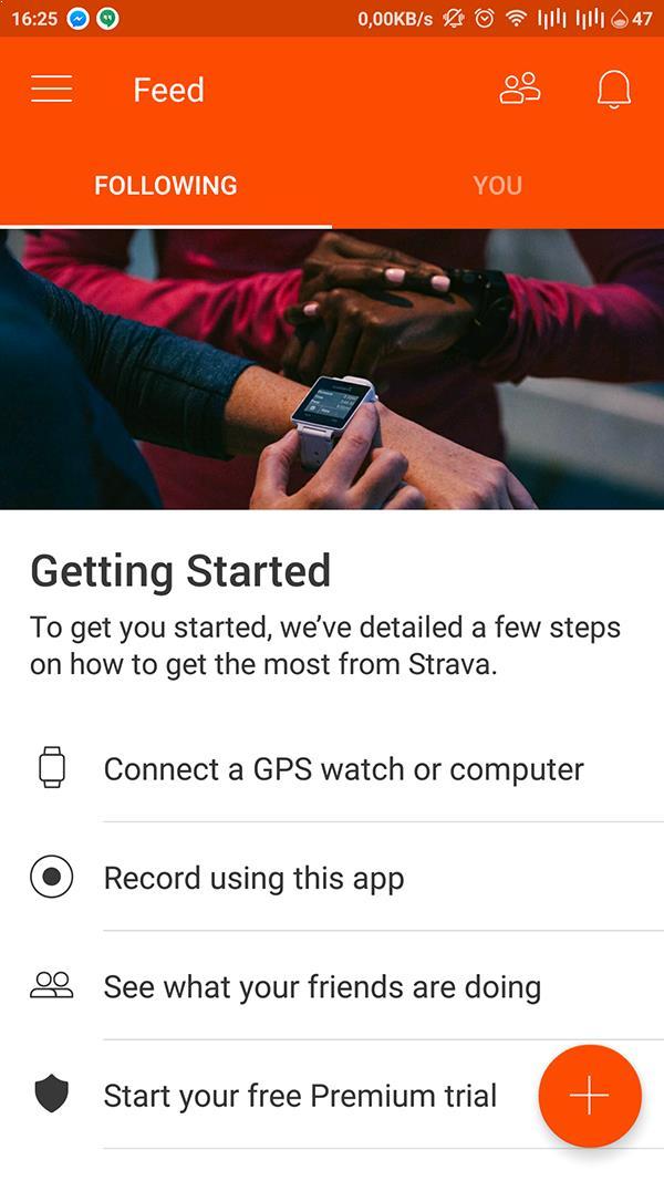 Tracking quãng đường chạy với Stava