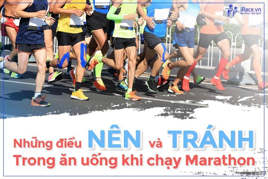 Dinh dưỡng trong chạy Marathon: Những điều NÊN và KHÔNG NÊN