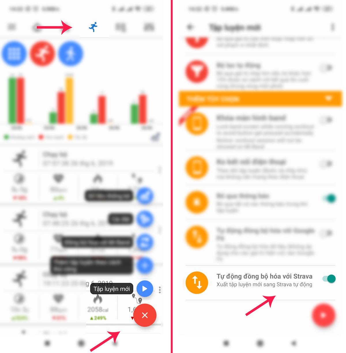 Hướng dẫn kết nối Xiaomi Mi Band và với Strava