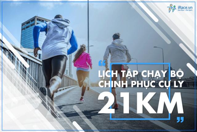 Chinh phục cự ly 21K với lịch tập chạy bộ trong 10 tuần