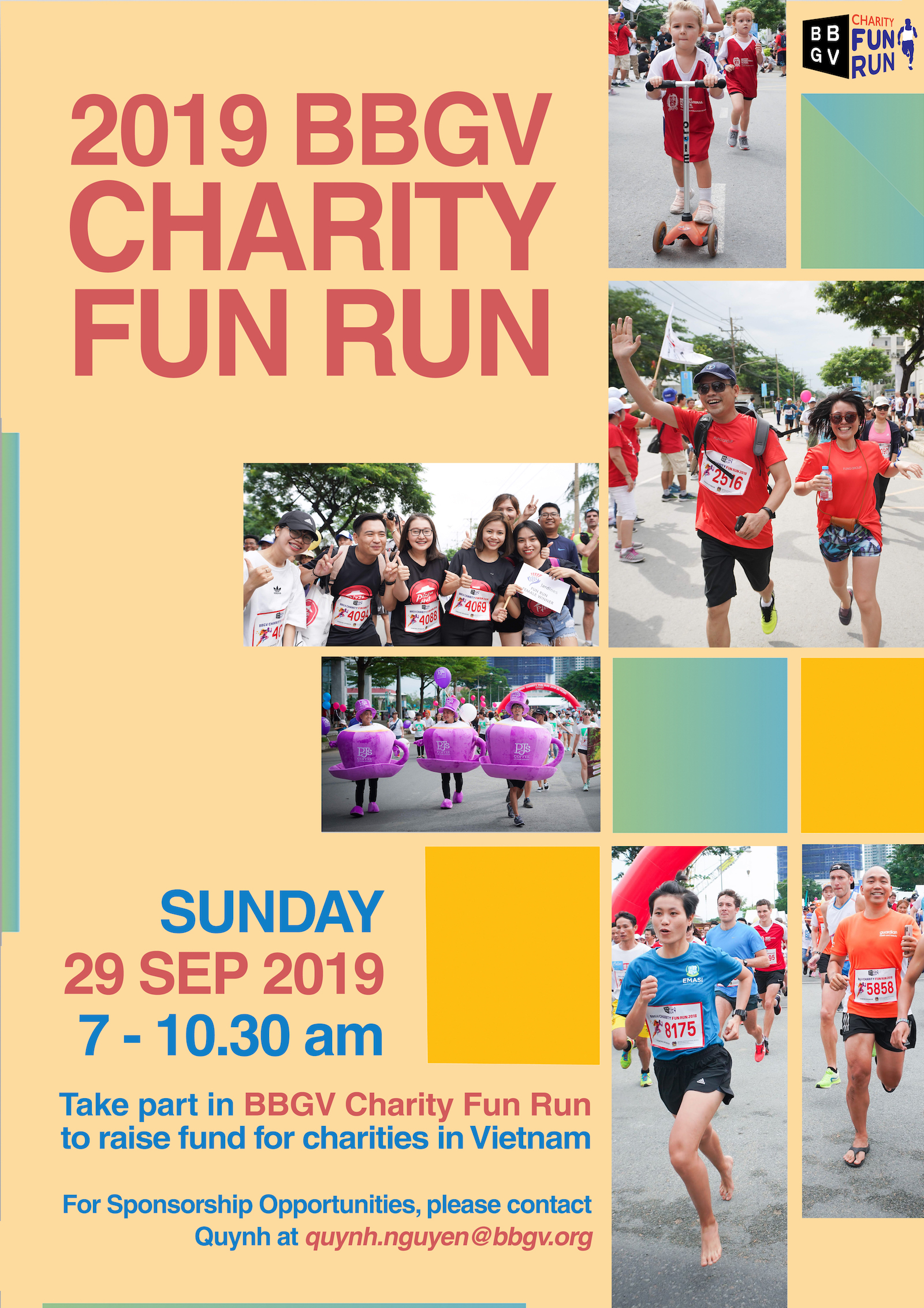 BBGV 19th Fun Run for Charity 2019