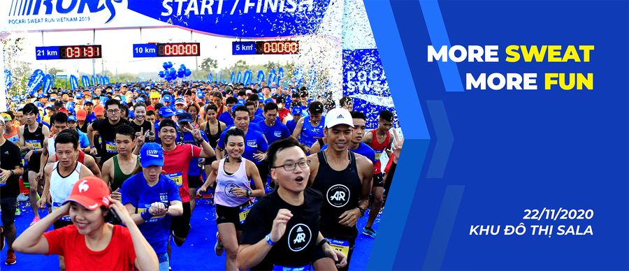 Pocari Sweat Run 2021
