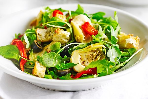 salad rau xanh