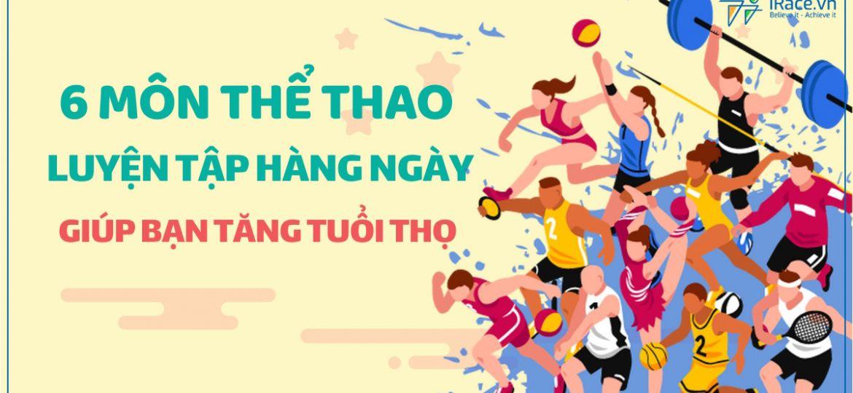 6 mon the thao giup ban tang tuoi tho