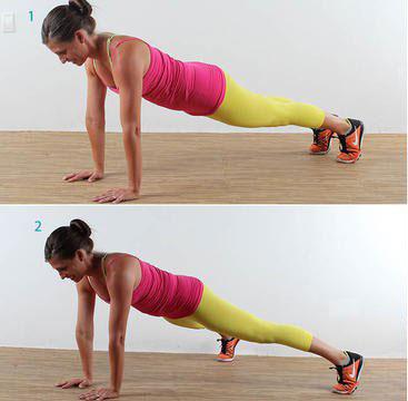 Tick Tock Plank