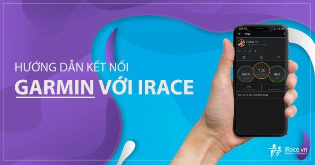 Hướng dẫn kết nối Garmin với iRace