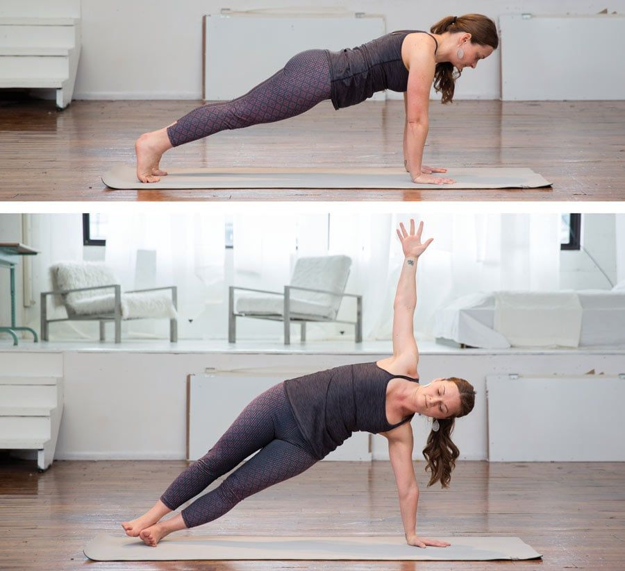 Plank and Side Plank