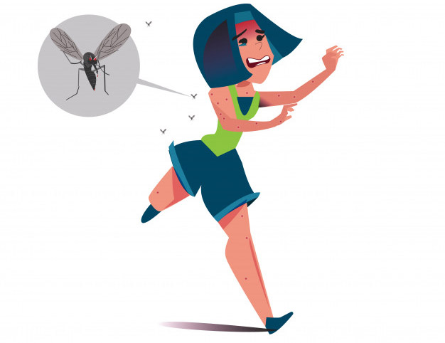 mosquitoes love runners