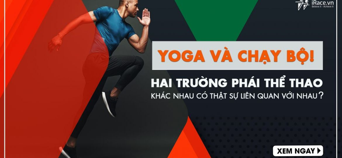 yoga và chay bo