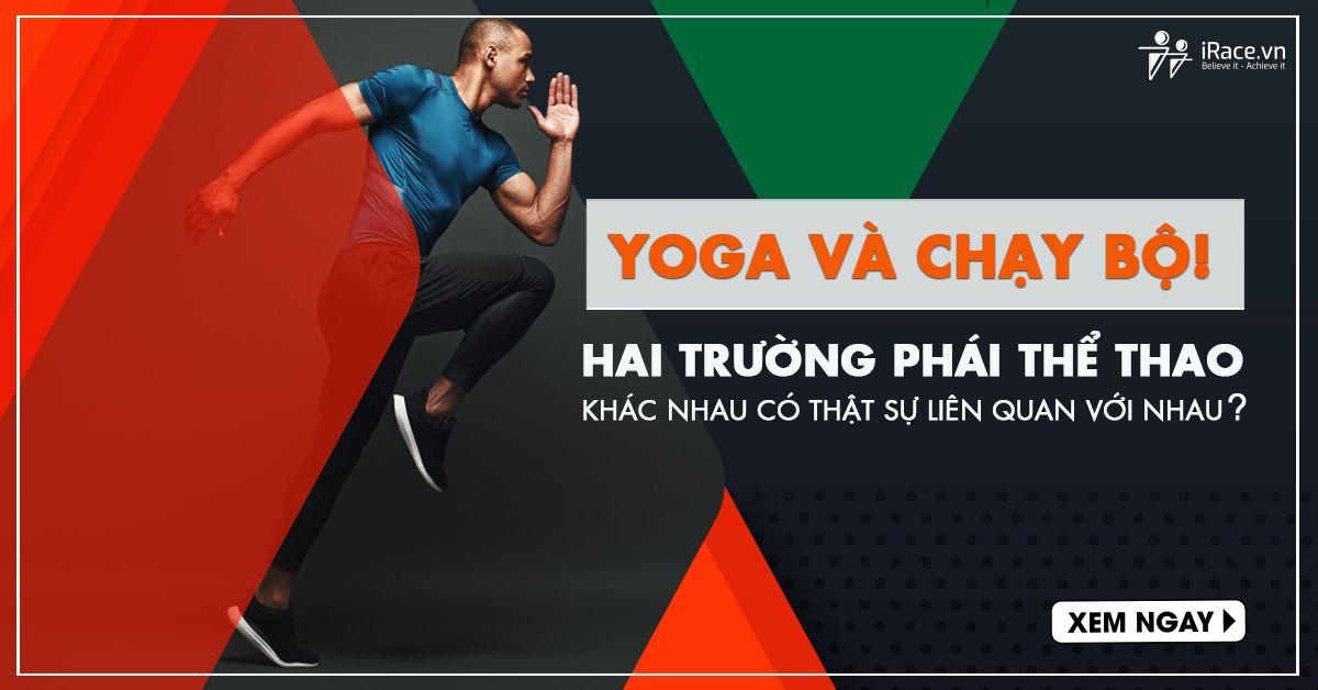 yoga và chay bo
