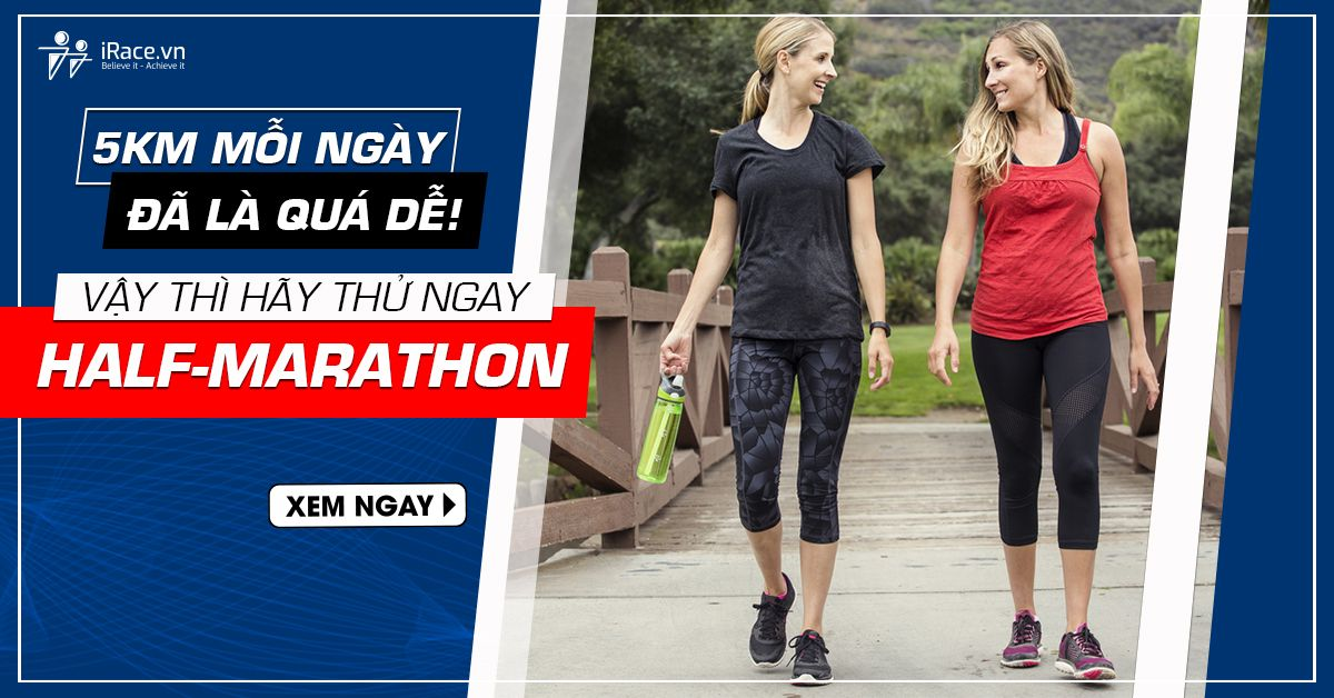 chay half marathon ngay hom nay