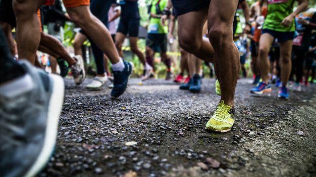 starting running
