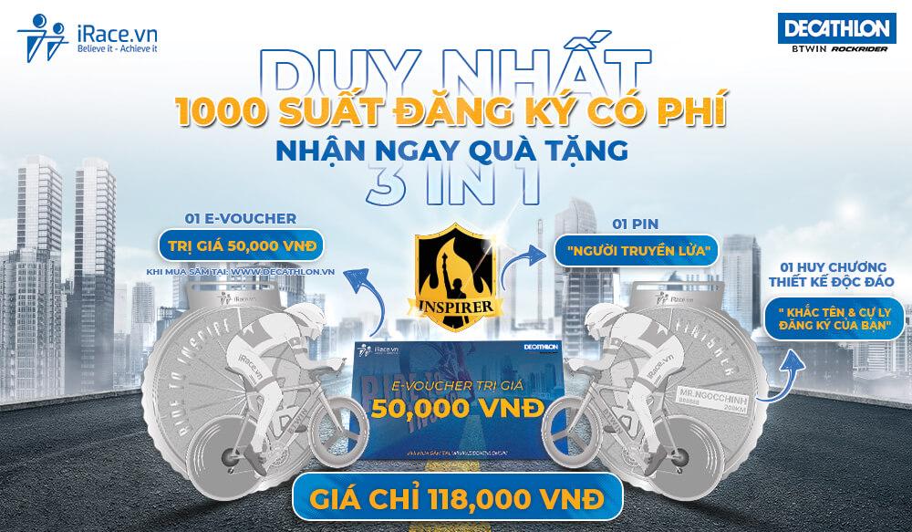 Ride To Inspire - ĐẠP XE LAN TỎA TINH THẦN THỂ THAO Thể Hình Channel
