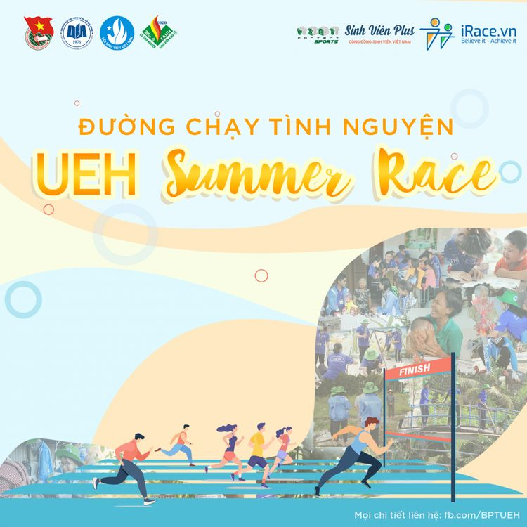 Poster UEH SUMMER RACE