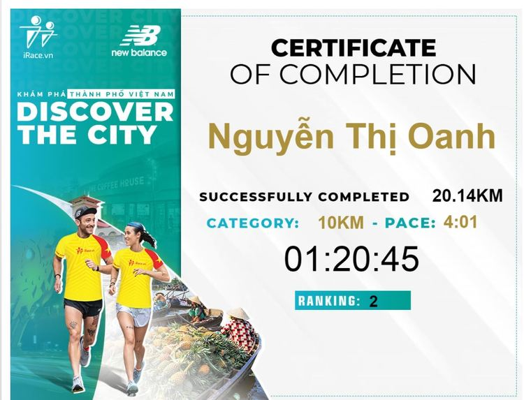 Discover The City nguyen thi oanh
