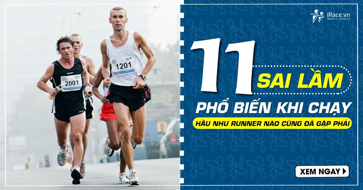 11 sai lầm khi chạy bộ phổ biến hầu như runner nào cũng đã gặp phải