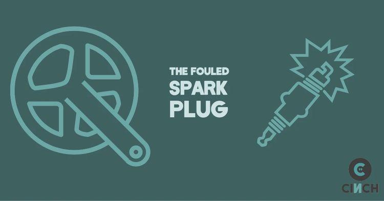 fouled spark plug,
