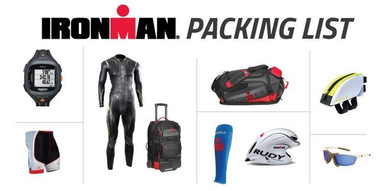 ironman packing list