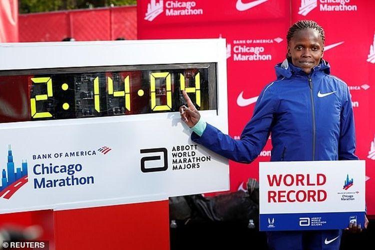 Kosgei Kylucthegioi Chicago Marathon 2019