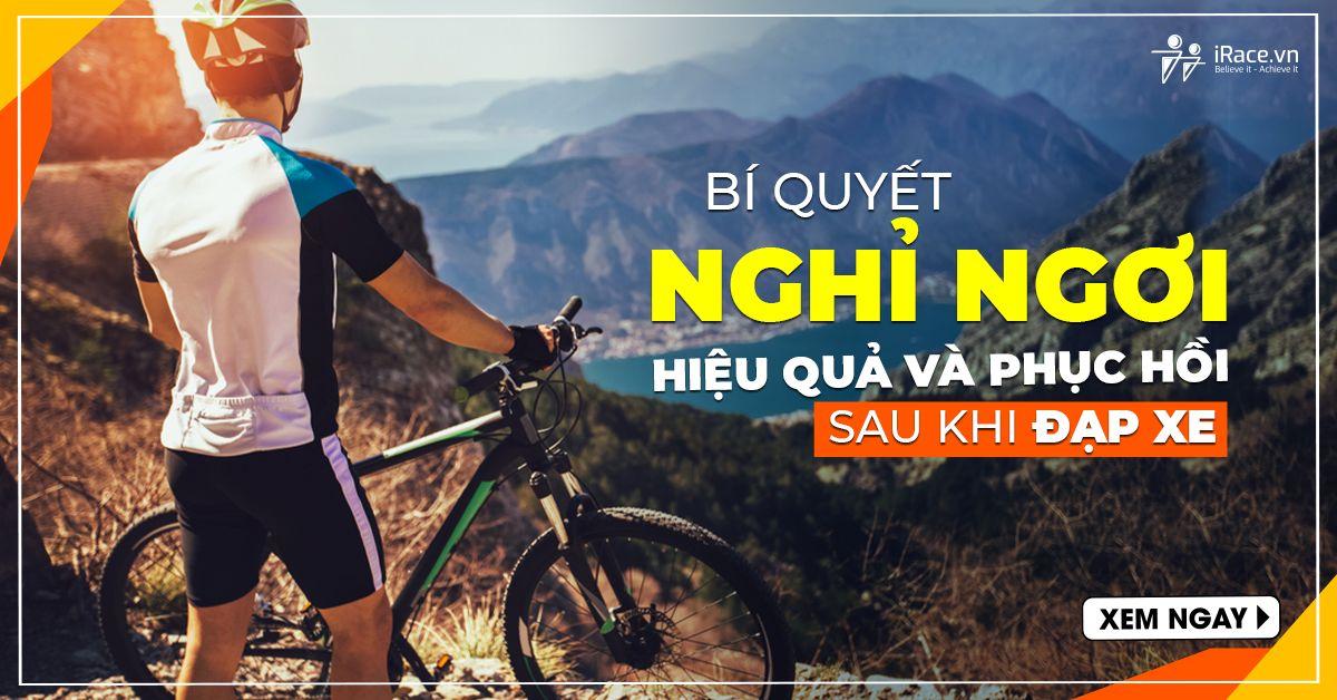 Bí quyết nghỉ ngơi hiệu quả và phục hồi sau khi đạp xe