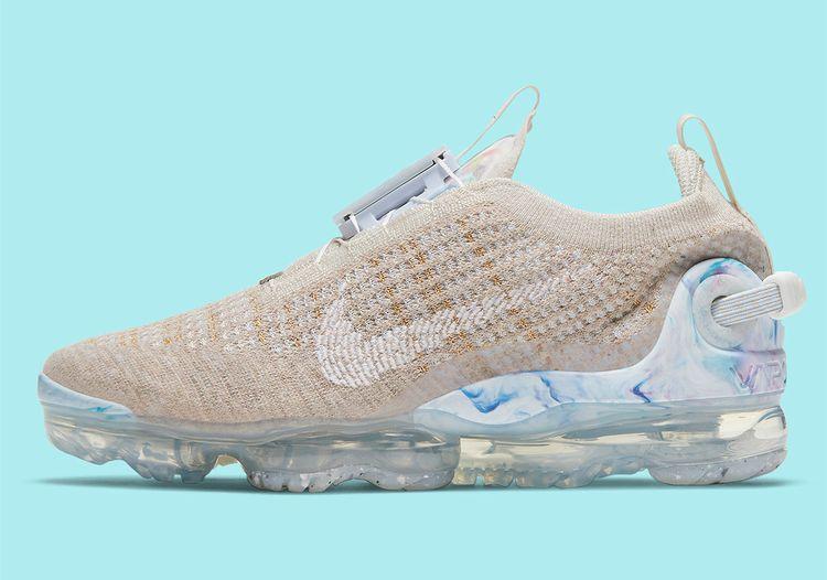 """Nike Vapormax 2020 Flyknit """"Oatmeal/Hydrogen Blue"""""""