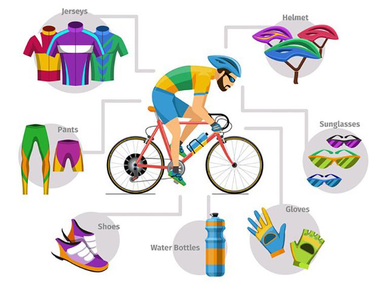 road bike uniform