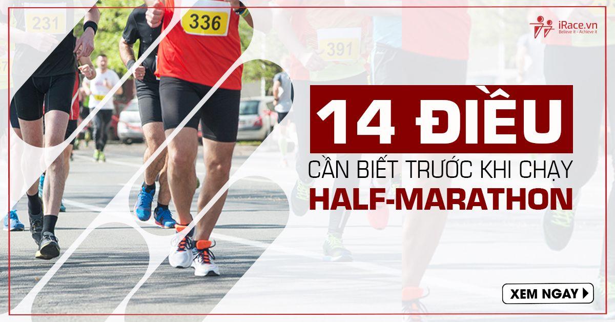 14 dieu can biet khi chay half marathon