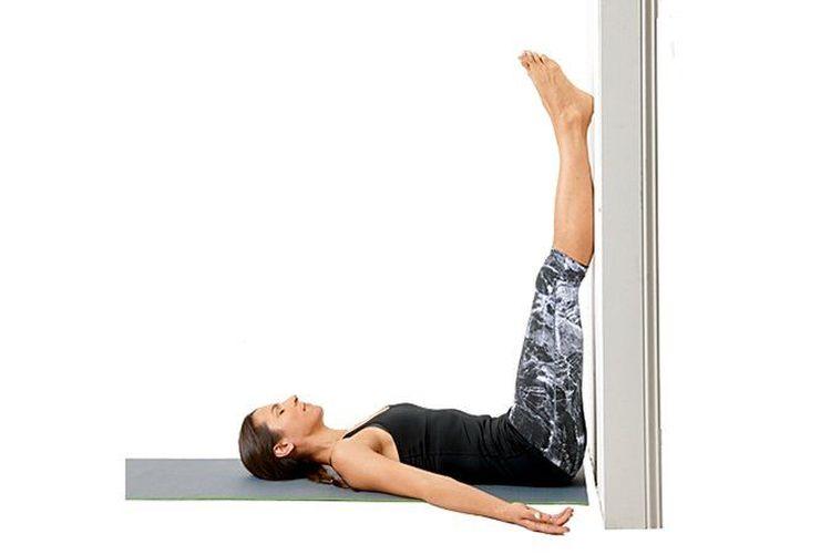 legsonwall yoga