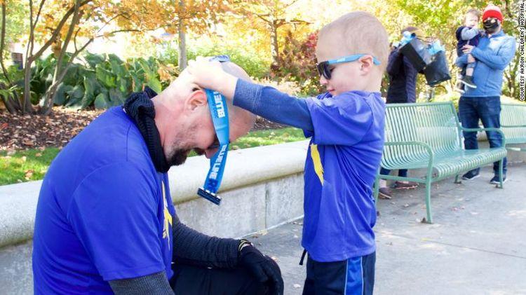 Ohio Dad Runs His First Marathon Around 3