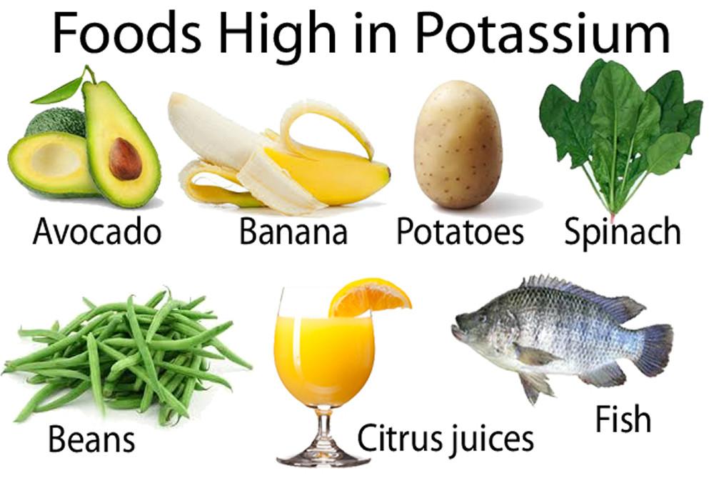 potassium la gi