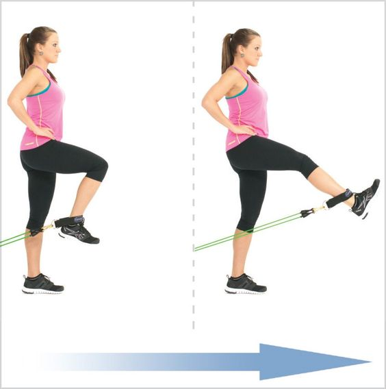 Banded Leg Extension
