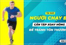 runner tap xoay hong