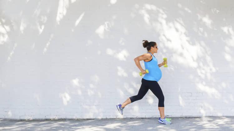 running in pregnancy
