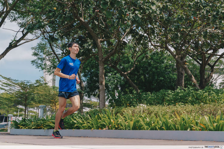 Build muscle memory by running
