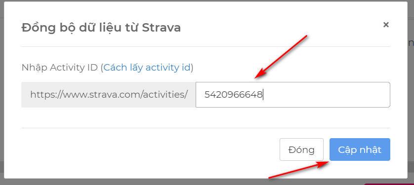 Cách lấy ID Activeties Strava để đồng bộ trên iRace